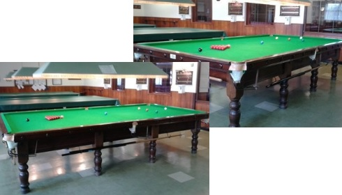 Brumby Hall Snooker tables